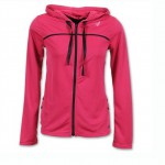 New Balance Stride Women's Jacket in Sangria