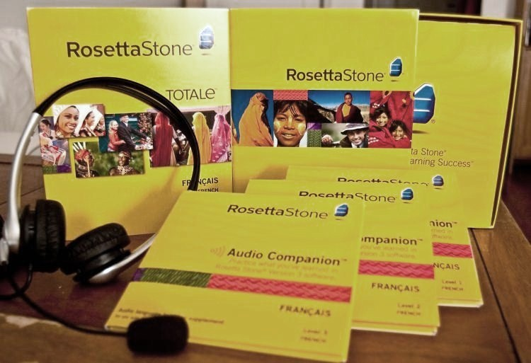 Rosetta Stone Version 4 TOTALe Package (Winner picks language)