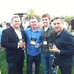 Couponology executives John Rodriguez & John Daskalis hanging with Murad representatives