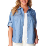 Chambray Dot Shirt