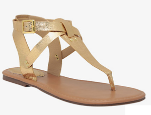 T-Strap Sandals (Wide Width)